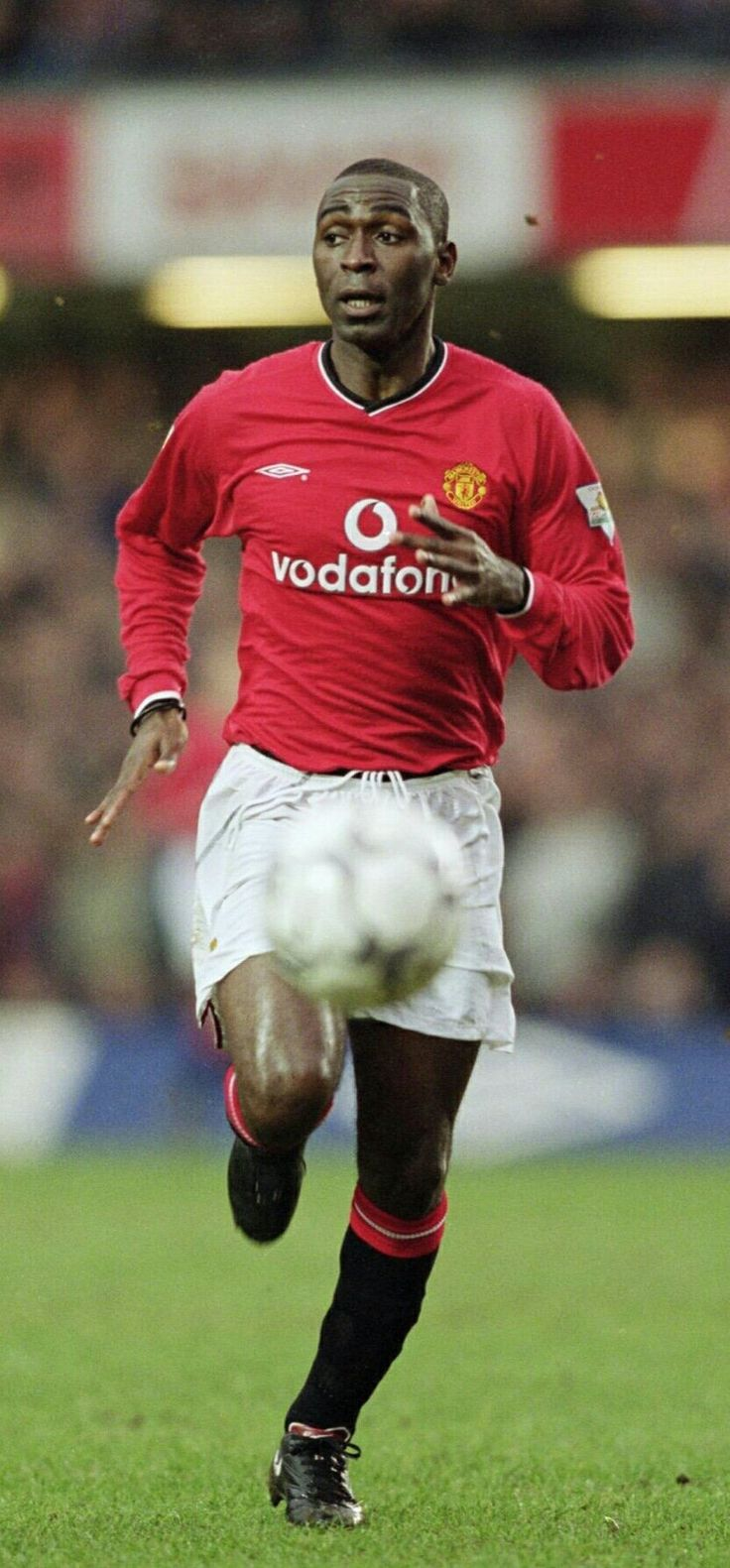 Andy Cole of Man Utd in 2000.