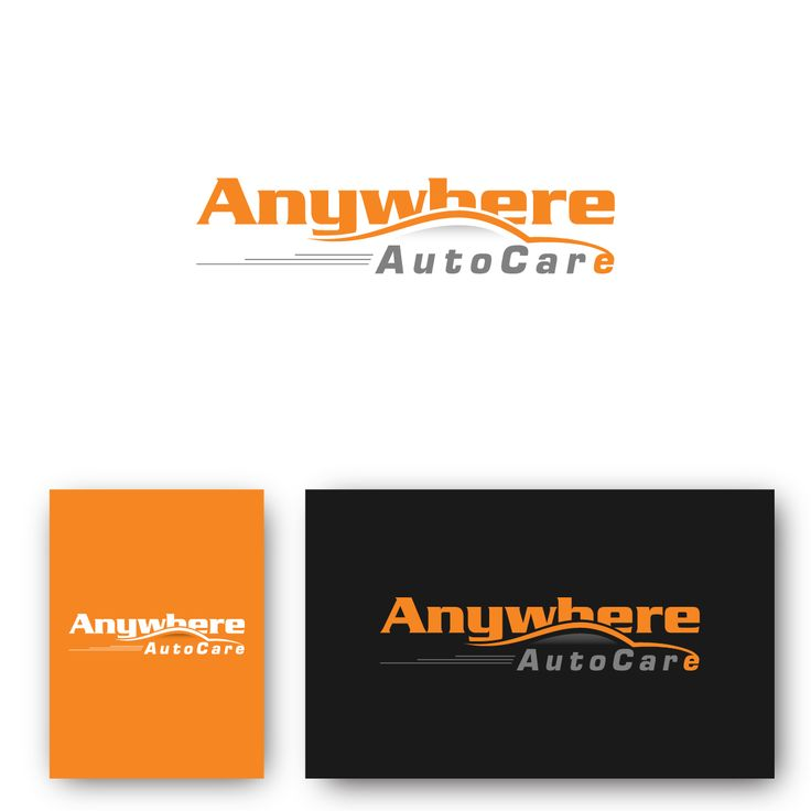 Logo Design By Deziner Zone For Anywhere Auto Care Inc Design