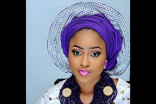 From the make up to the gele to the ……perfect…