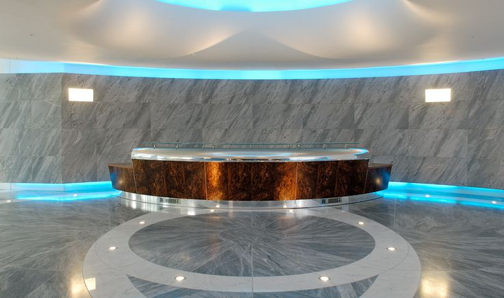 Commercial - National Coal Board Reception Desk - TinTab - Contemporary, bespoke, design & manufacturing in Newhaven, East Sussex
