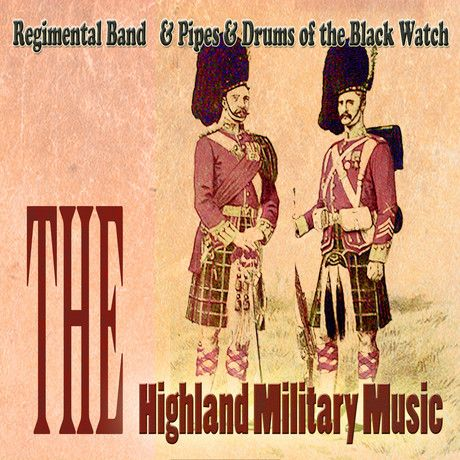 highland military bands