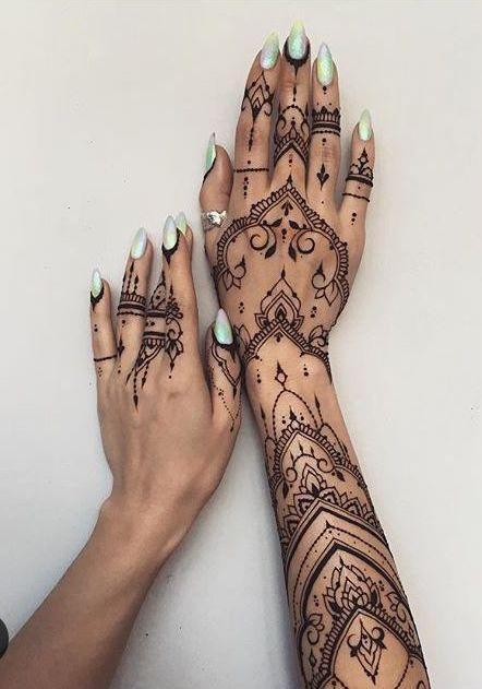 60+ STUNNING HENNA TATTOO DESIGN BECOMES A TREND – Page 28 of 65