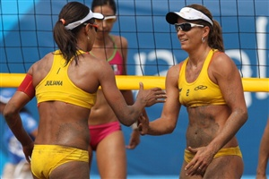 Watch beach volleyball live this weekend as the FIVB Beach Volleyball SWATCH World Tour Shanghai Grand Slam comes to a close.