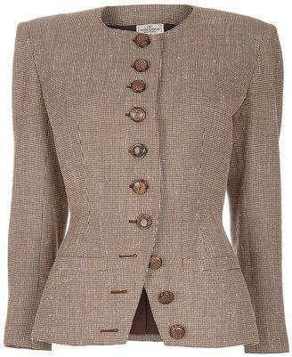 ShopStyle: Valentino Vintage skirt suit