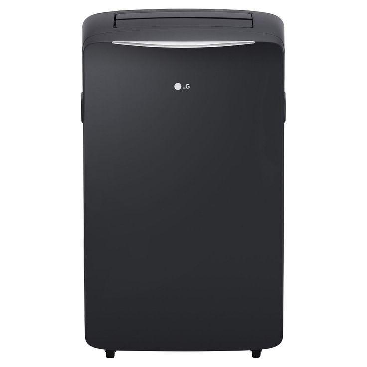 LG - 14000-Btu Portable Air Conditioner, Grey