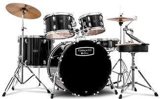 Mapex Tornado Schlagzeug TND5044TC dark black 20' 10'12' 14'