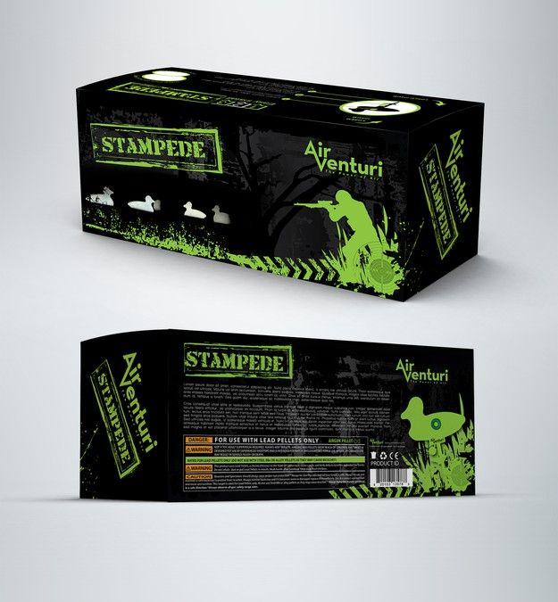 Create packaging designs for 2 metal shooting targets by Catus