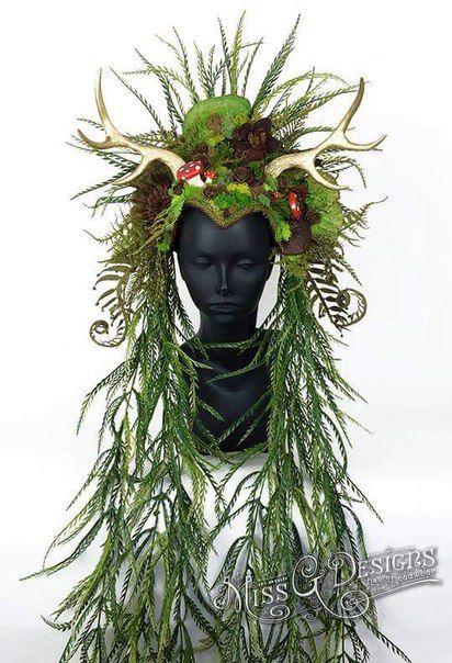 Фантастические и прекрасные головные уборы от Miss G Design из Лос-Анджелеса