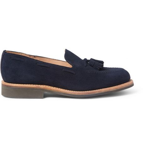 Mark McNairy Suede Tasselled Loafers | MR PORTER