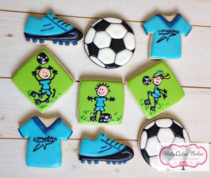 Cake Designs By Patty : 25+ Best Ideas about Soccer Cookies on Pinterest ...