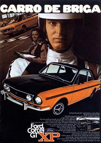 3750 - FORD - Corcel 1972 - GT XP - Carro de Briga - Ford Corcel