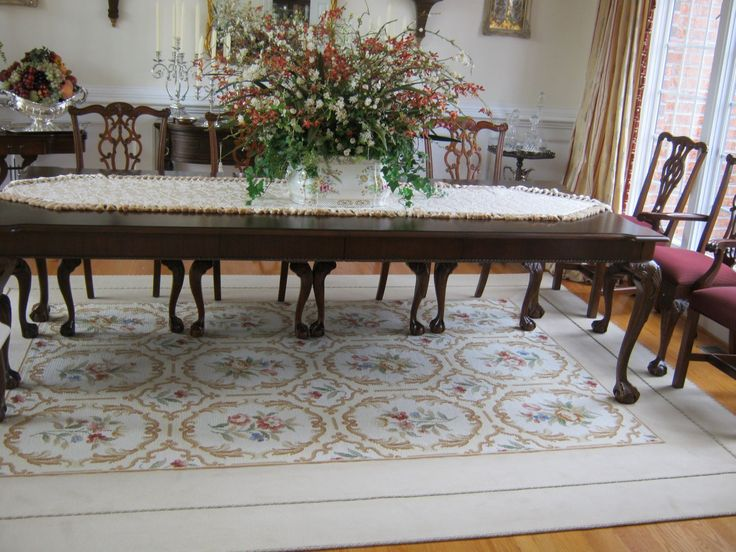 #carpet Border Added To #needlepoint #rug To Make The Rug Larger. #