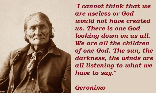 Quotes by Germino | Geronimo quotations, sayings. Famous quotes of Geronimo, Geronimo ...