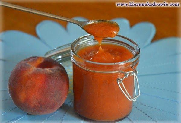 kierunek zdrowie: Niesłodzony dżem brzoskwiniowy
