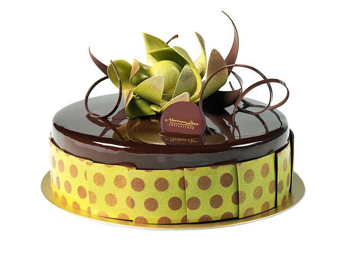 Valentines Mirror Glaze Cake