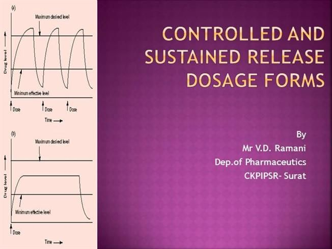 CH- 1 Controlled and sustained release dosage forms by v.ramani007 via authorSTREAM