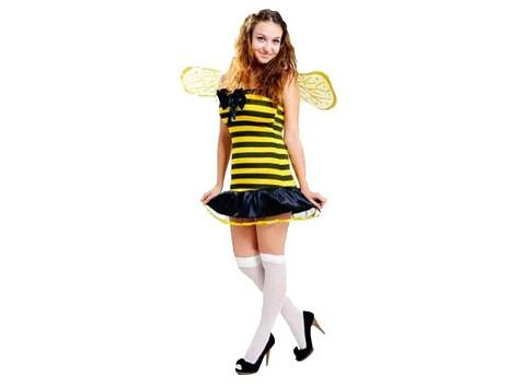 Adult Bumble Bee Lady  Includes: Wings, dress & headband