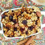 Fall inspired granola