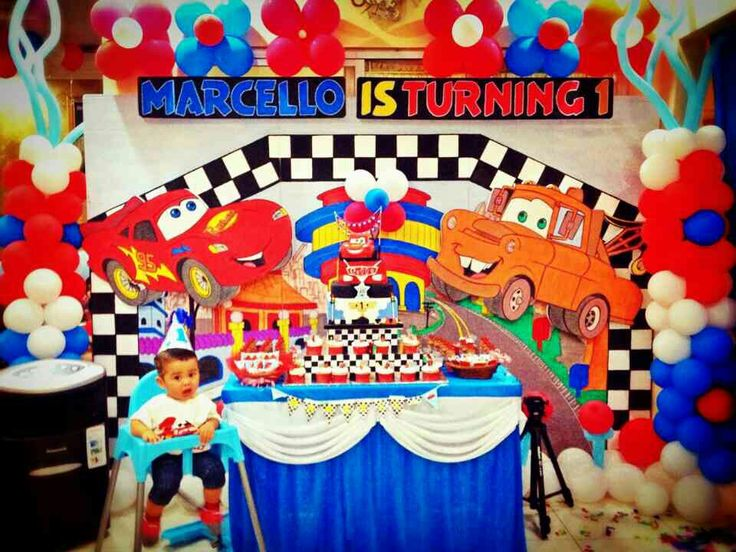 Marcello 1st birthday cake