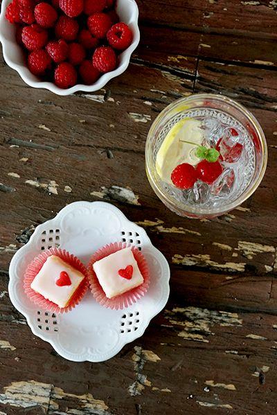 Recipes: Lemon-Raspberry Petit Fours