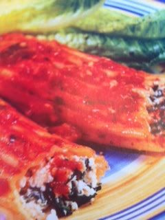 ... recipes: Cannelloni with Tomato Eggplant Sauce Crockpot Recipe
