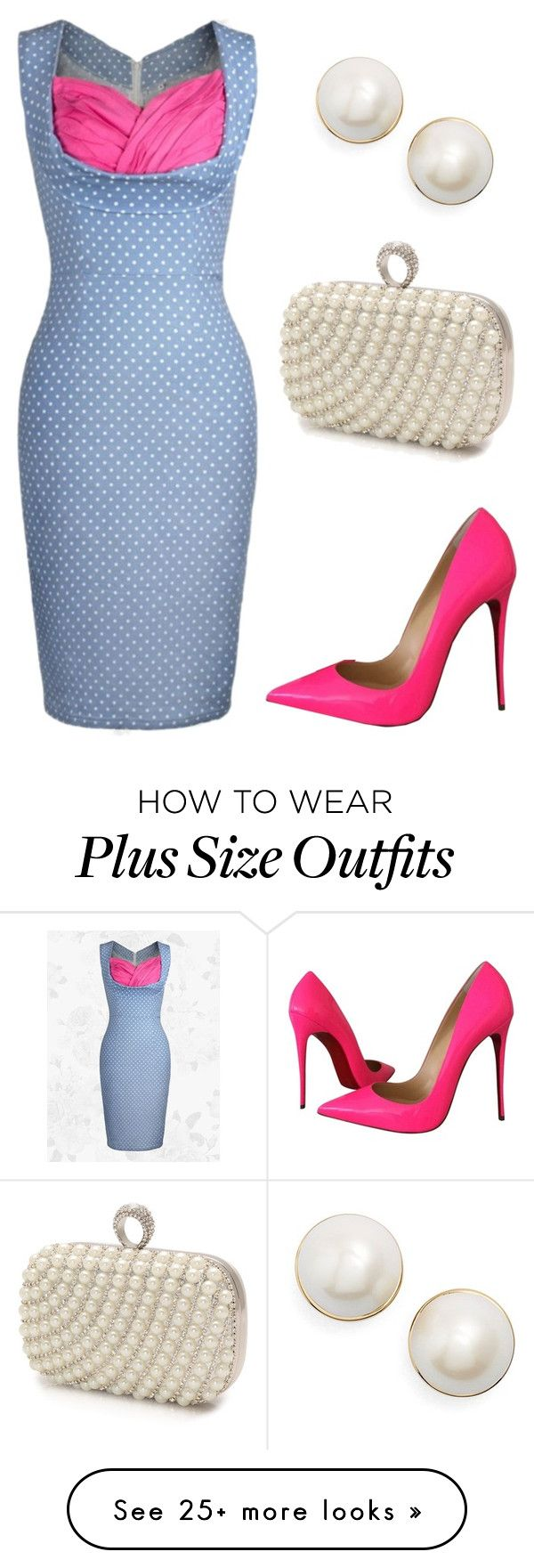 """1st Date"" by sassyladies on Polyvore featuring Christian Louboutin, Mascara and Kate Spade"