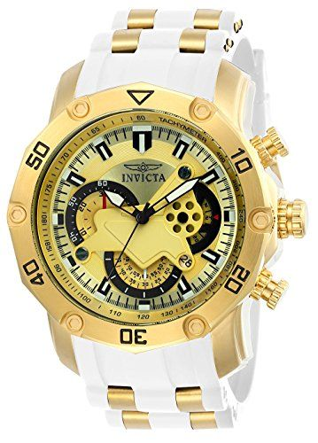 229eb38bb6c Invicta Men s  Pro Diver  Quartz Stainless Steel and Silicone Casual Watch  (23424)  fashion  menswatches  watchcollec…