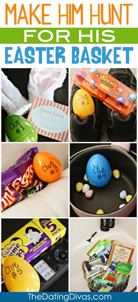 Fun Easter Egg hunt with free downloadable clue cards.  This is fun and would be super simple to pull off.