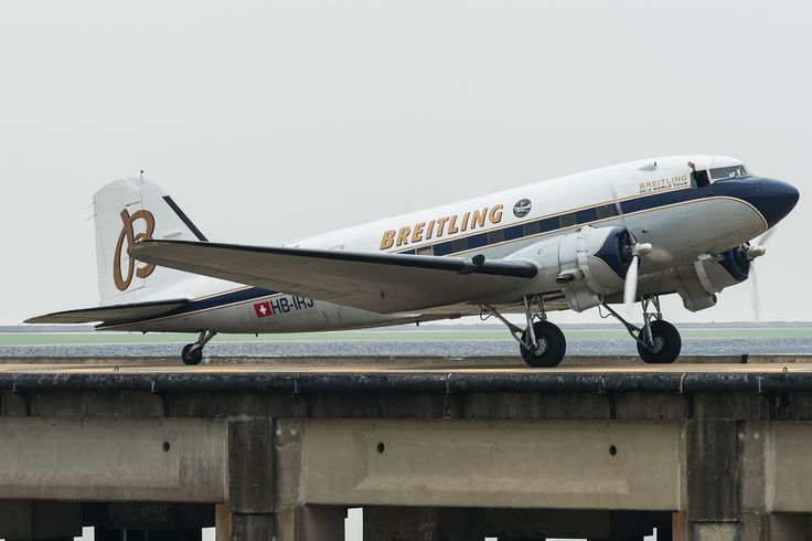 Macau is one of the 54 stops of Breitling DC-3 World Tour, this 77 year old DC-3 arrived Macau on 23 April 2017 from Laoag, Philippines. The tour began on 9 March 2017 from Geneva, Switzerland. When it completes the round-the-world tour, it will become the oldest aircraft to circumnavigate the world.