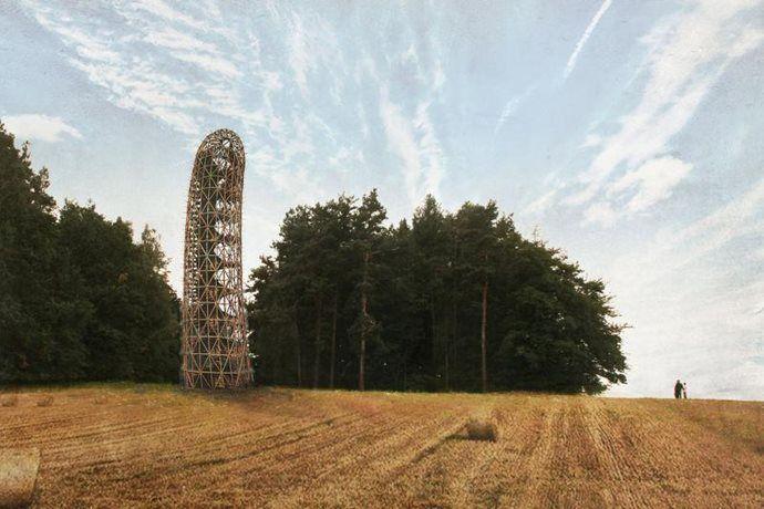 Kudy z nudy - Rozhledna v Heřmanicích na Frýdlantsku