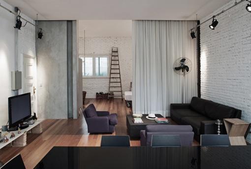 Un apartamento de 70 metros cuadrados decoratrix for Loft de 40 metros cuadrados