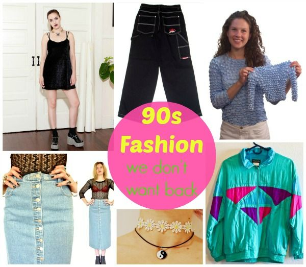 Ridiculous (and Nostalgic!) 90s Fashion Trends
