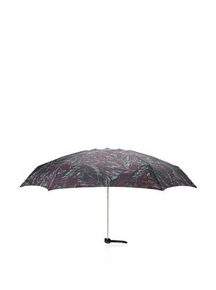 64% OFF Missoni Women's Piume Super Mini Flat Umbrella with Case, Green/Purple