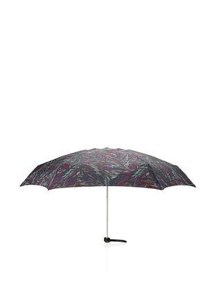 64% OFF Missoni Women's Piume Super Mini Flat Umbrella with Case, Green/Purple