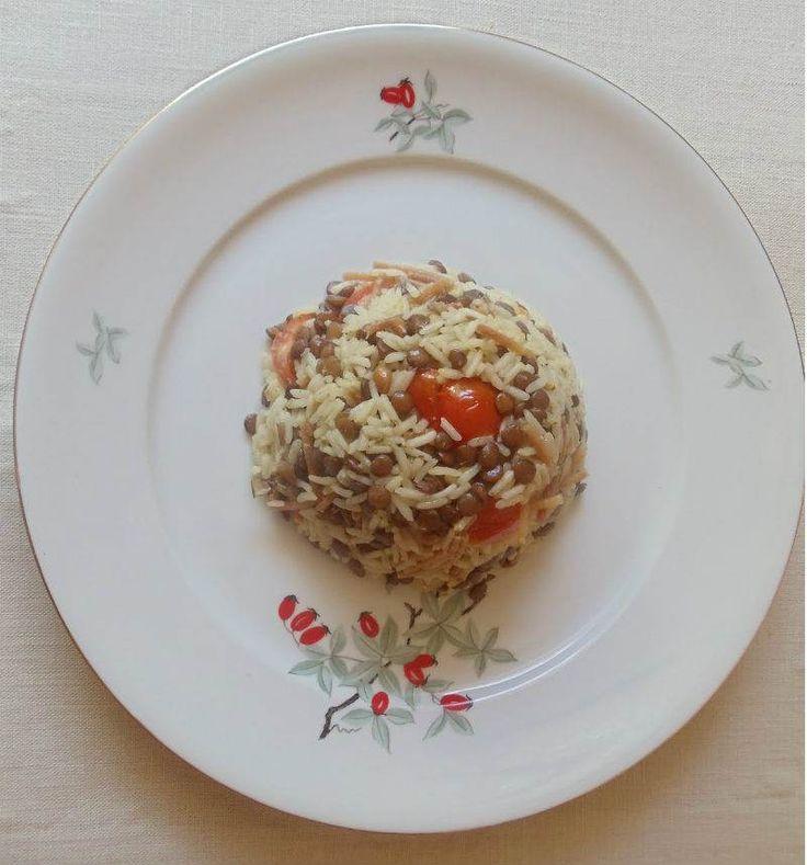 Yeşil Mercimekli Pirinç Pilavı                        -  Nesrin  Kismar #yemekmutfak