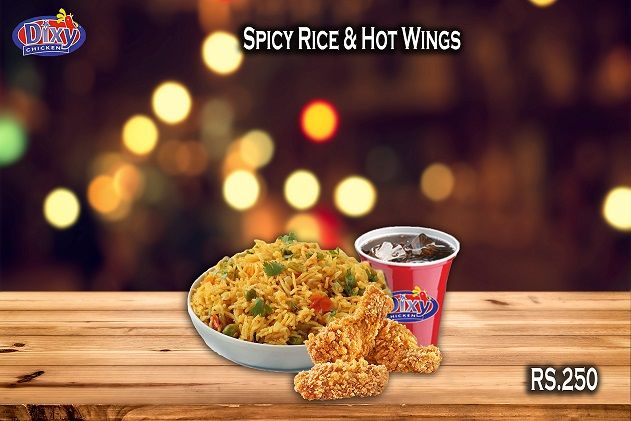 Our Rice quality is best when it comes to taste. Take our word when we say that this is the Best & classic taste in town. Order Online For Fastest Delivery Or Drop By To Carry out. #Dixy #Chicken Lahore (893-D Faisal Town, Near Akbar Chowk). For Free Home Delivery Call Now: 0304-1113499 #Fries #Food #Rice #friedChicken #Burgers #Pizza #Spicy #PeriPeriChicken #HotDeals #GrilledChicken #Shakes #icecream #Grilled #Wings