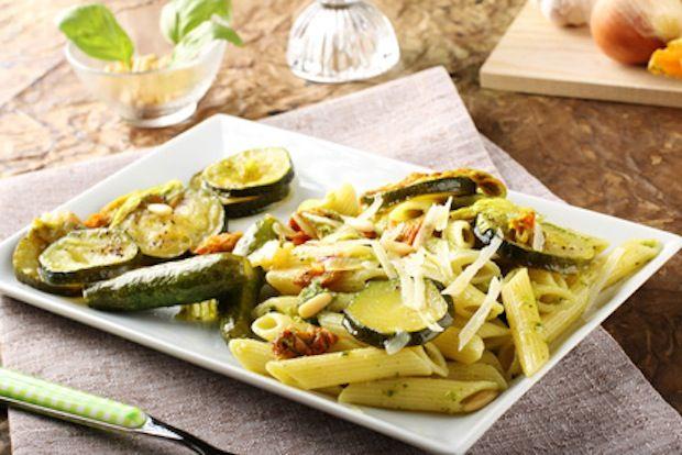 pasta zucchini flowers