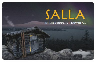 Salla - In the Middle of Nowhere, Lapland, i've been there and the nature is awsome there