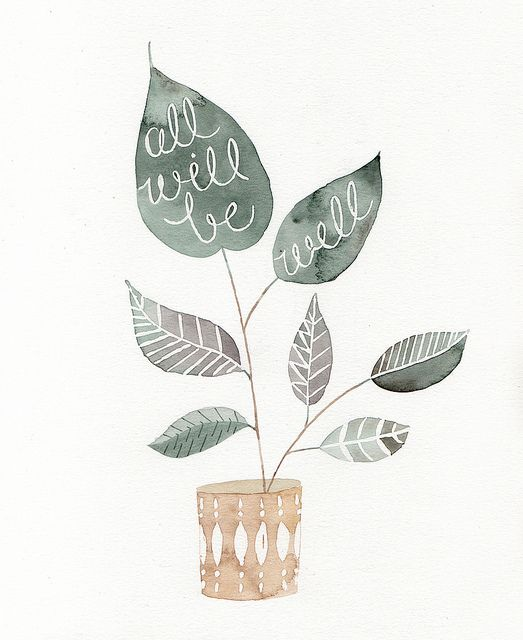 All Will Be Well by Julianna Swaney, via Flickr