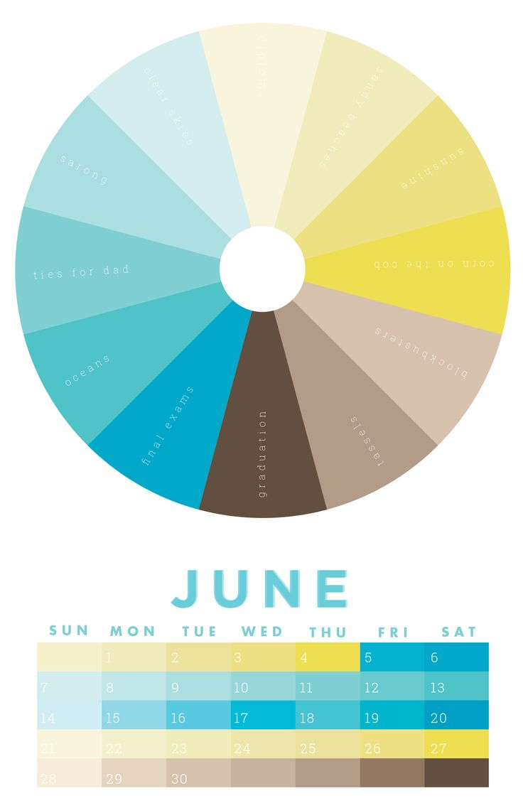 the colors of june