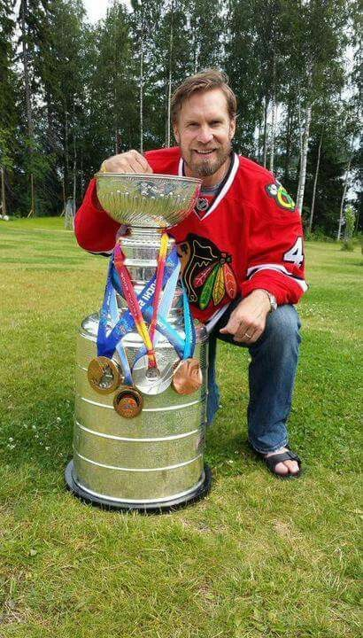 4 Olympic medals & a Stanley Cup.  What an amazing career for Kimmo .