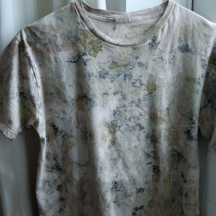NaKIN soap blog: Eco dying - Tutorial, T-shirt makeover