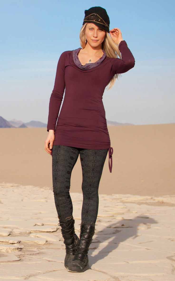Nomads Clothing Spectrum Leggings We had these in purple and they sold out!! we still have this top left in black