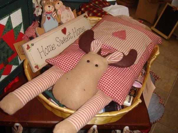 cuscino renna