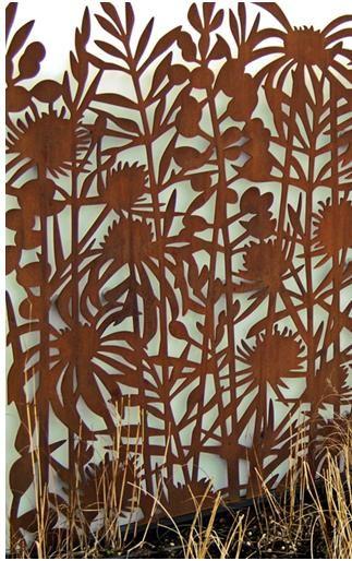 decorative screens | art for the garden – decorative screening, Garten ideen