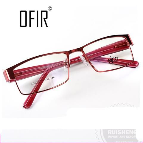 Optical Eyeglasses Frames Fashion Women Designers Eyewear Frame unisex  Clear Lens Glasses Brand Computer Glasses Frame  AC/CA-4