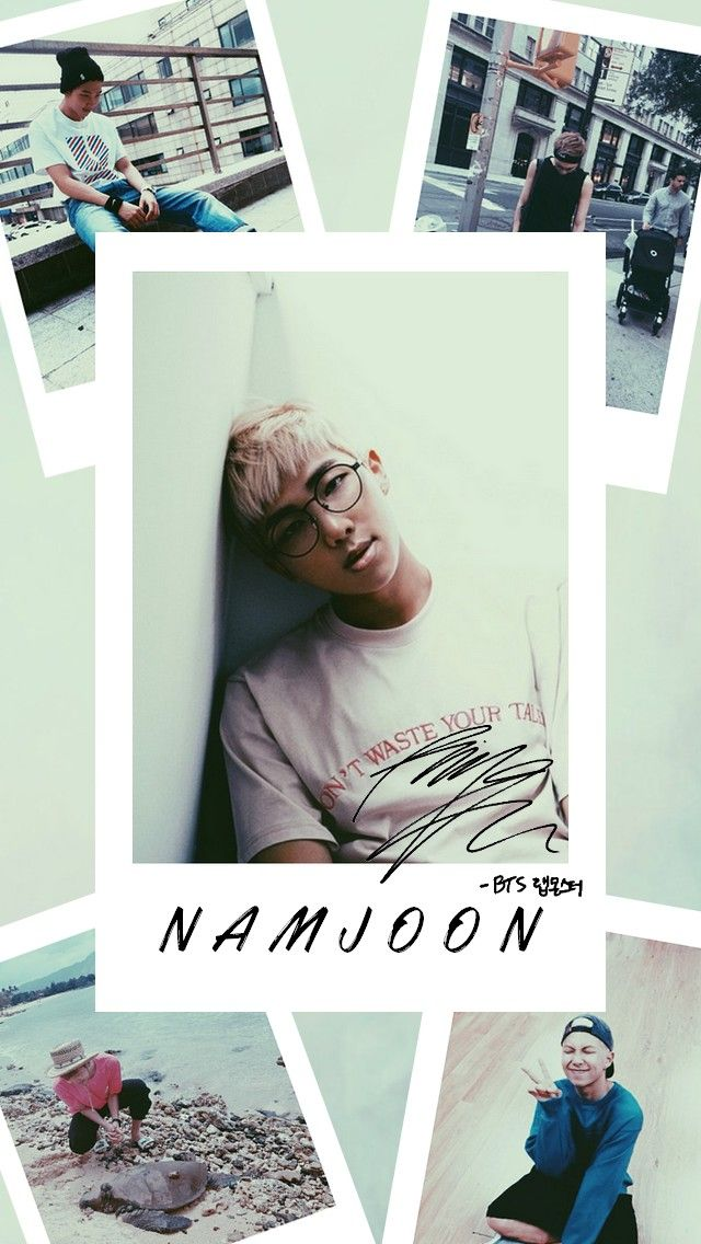 Namjoon BTS Lockscreen Aesthetic Rap Monster  kpop