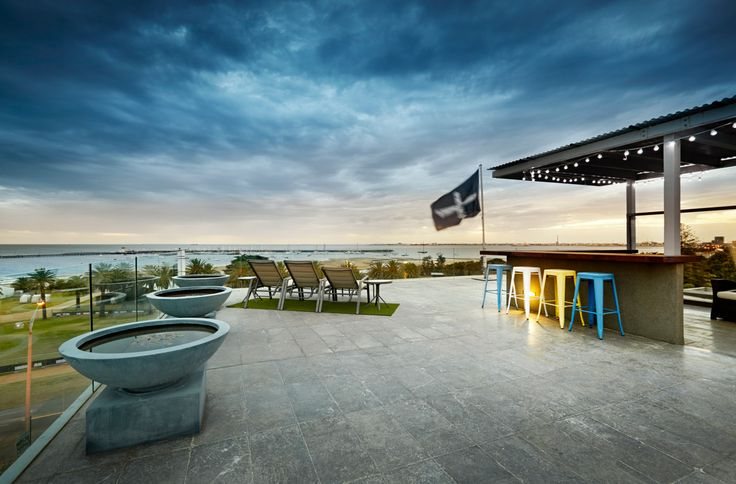 Rooftop views | 501/348 Beaconsfield Pde St Kilda West