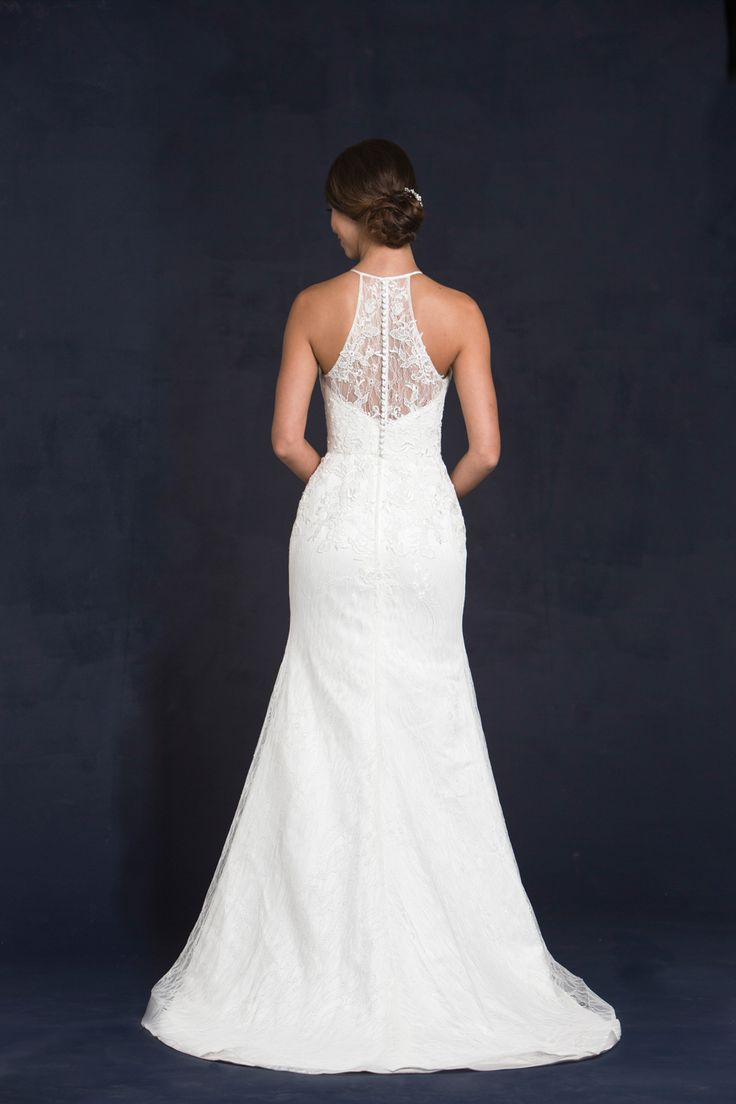 17 best images about lis simon on pinterest lace for Wedding dresses with pearls and diamonds