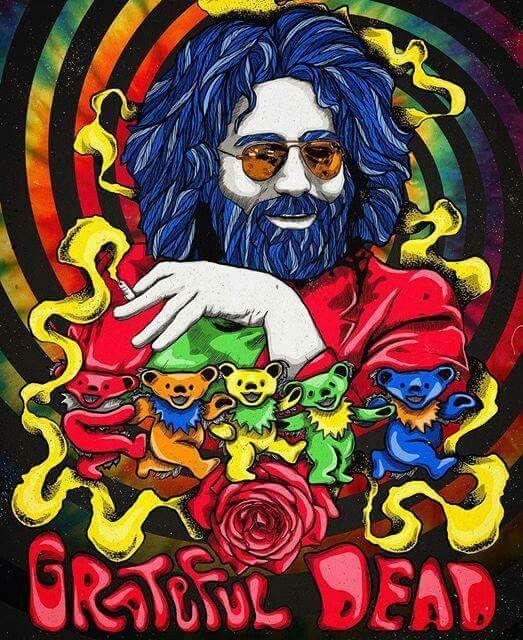 Jerry Garcia Grateful Dead #JerryGarcia #GratefulDead #DancingBears